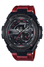 Casio G-shock GST-210M-4A Shock Resistant Men's Watch Red (Free Size)