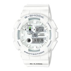 Casio G-Shock Men's White Resin Strap Watch GAX-100A-7A
