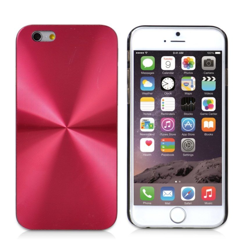 CD Line Hard Slim Case Cover for iPhone 6 Plus / 6s Plus (Red) (Intl)