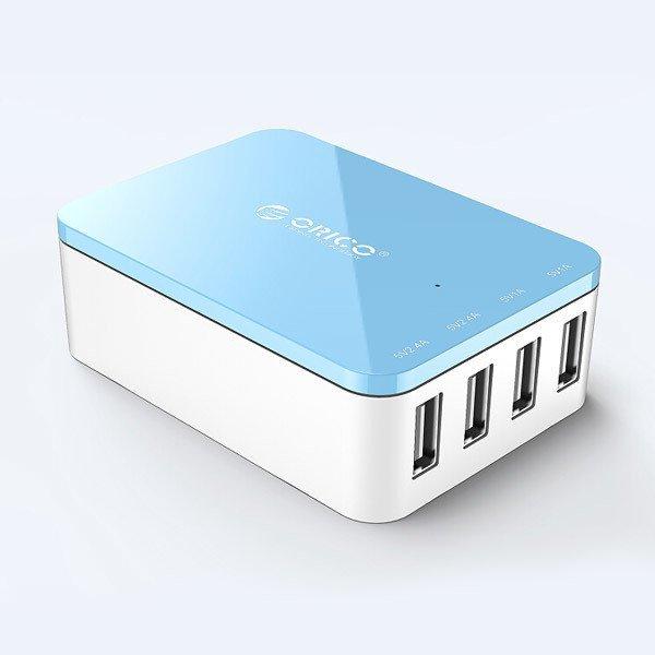 Charger Orico Csi-4u 4 Ports USB Smart Charger - Biru