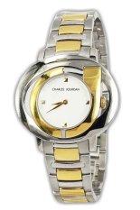 Charles Jourdan Jam Tangan Wanita-Silver-Strap Stainles-20.23 1 (...one Size)