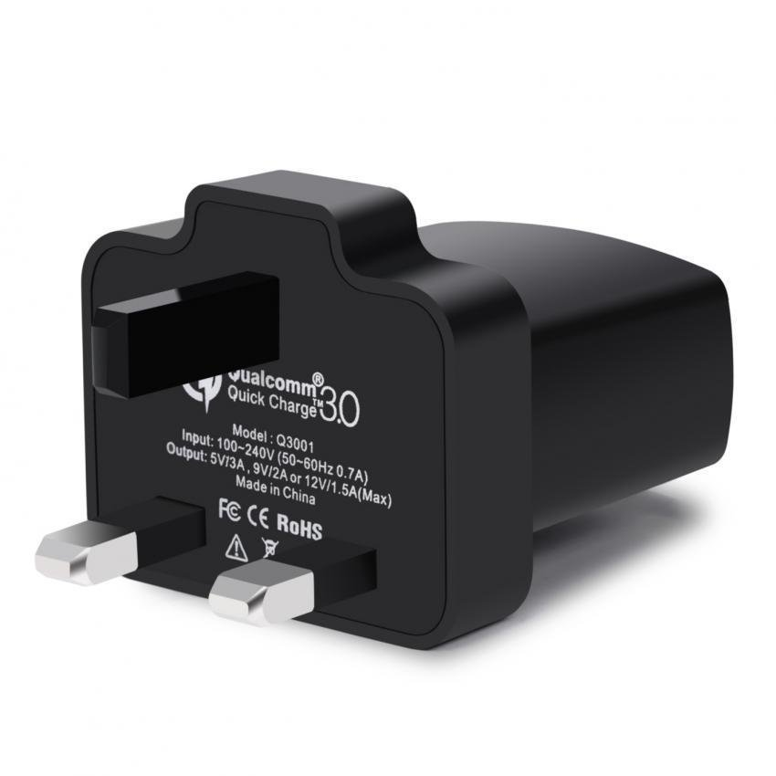 CHOETECH Quick Charge 3.0 Charger UK Plug (Black) (Intl)