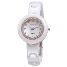 CITOLE Big Manufacturers Selling High-End Watches Watch Qin Wei Sweet Baby Diamond Ceramic Watch W3206