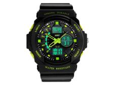 CITOLE Mens Outdoor Military Sport Wrist Watches (Green)