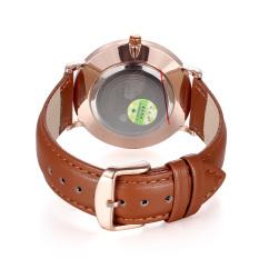 CITOLE New Fashion Casual Wristwatch PU Leather Watches Men Luxury Brand Skone Quartz Watch (Black) (Intl)