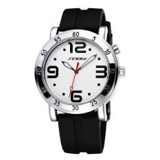CITOLE Sinobi Lovely Large Luminous Hands Silicone Digital Quartz Watches (Intl)