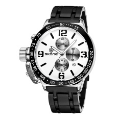 CITOLE True Three Generous Fashion Personality Bezel New Authentic SKONE Time And Space With A Calendar (Intl)