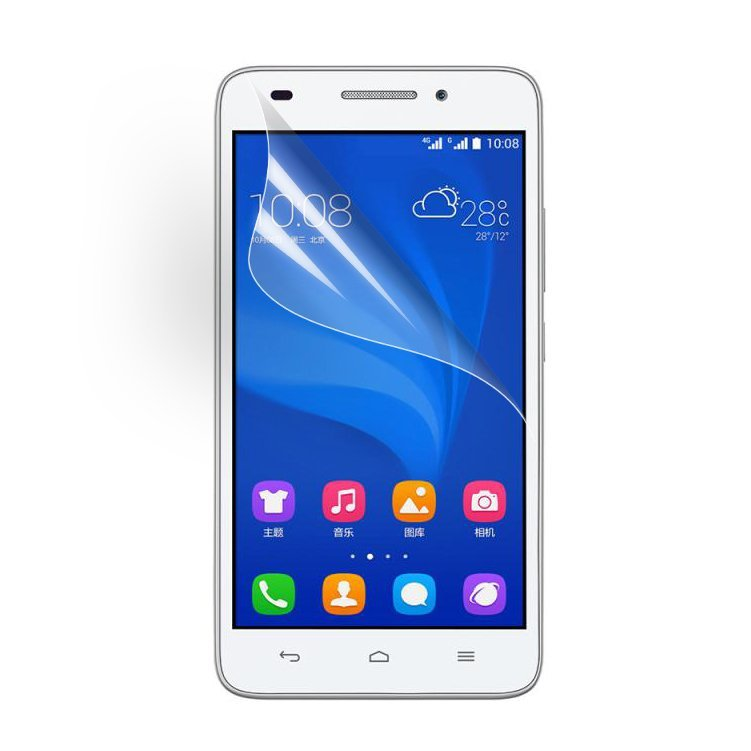 Clear LCD Screen Protector Shield Film for Huawei Honor 4A