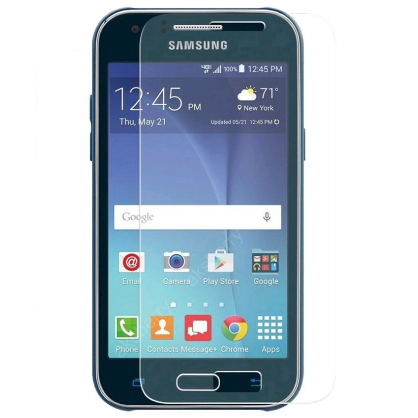 Clear Tempered Glass Screen Protector for Samsung Galaxy J1 (Intl)