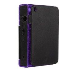 Clip Metal USB MP3 Music Media Player Support 2-16GB Micro SD TF + Headphone Purple (Intl)