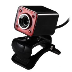 Clip-on 360 Degree USB 12 Megapixel HD LED Camera Webcam With MIC