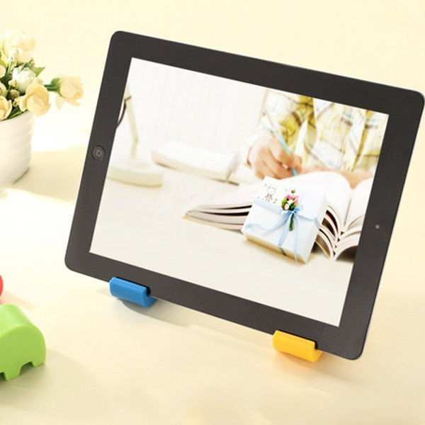 Clothingloves Household Sundries Elephant Phone Holder Tablet PC Support Frame MultiColor