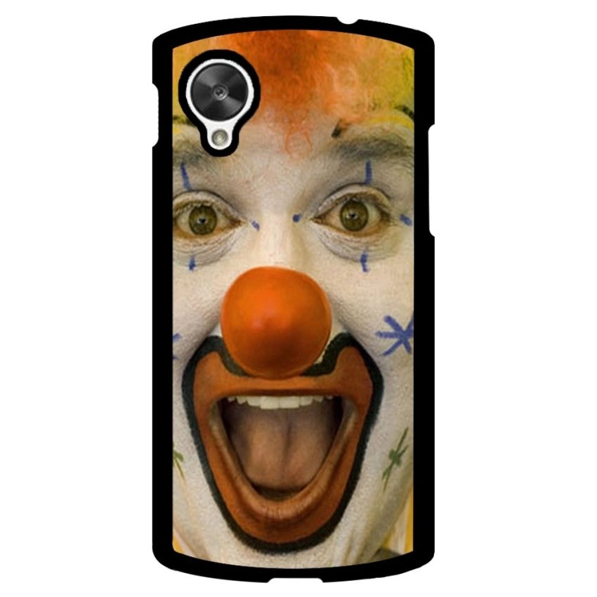 Clown Evil Joker Pattern Phone Case for LG Nexus 5 (Multicolor)