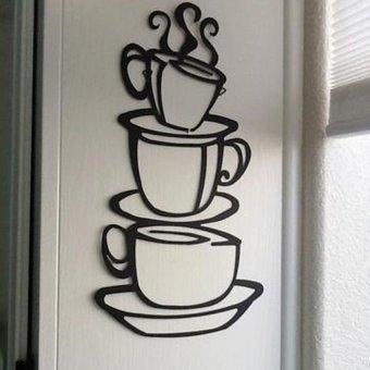 Themecoffee Cup Colorblack Materialpvc Non Toxic Environmental
