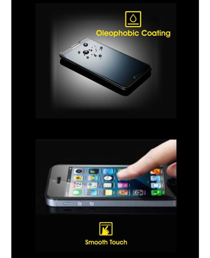 Cognos Glass Tempered Glass Screen Protector for One Plus One