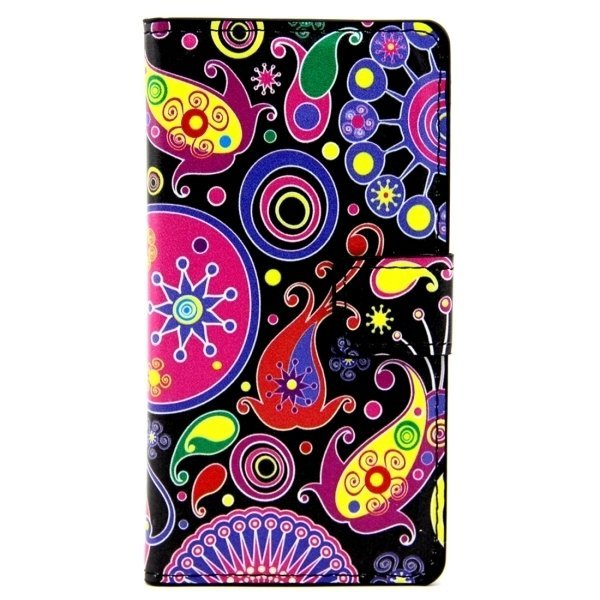Colorful and Abstract Pattern Leather Flip Cover for LG Class/LG Zero (Multicolor) (Intl)