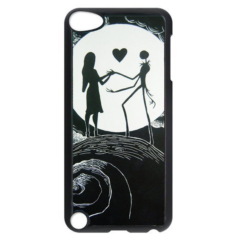 Cool Beauty And Monster Phone Case for iPod Touch 4 (Black)