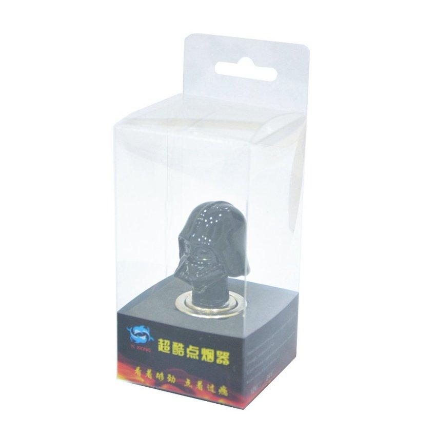 Cool Darth Vader Style Resin Car Cigarette Lighter (Black) (Intl)
