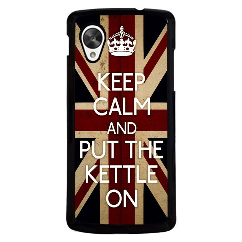 Cool Keep Calm and Put The Kettle On Case for LG Nexus 5 (Multicolor)