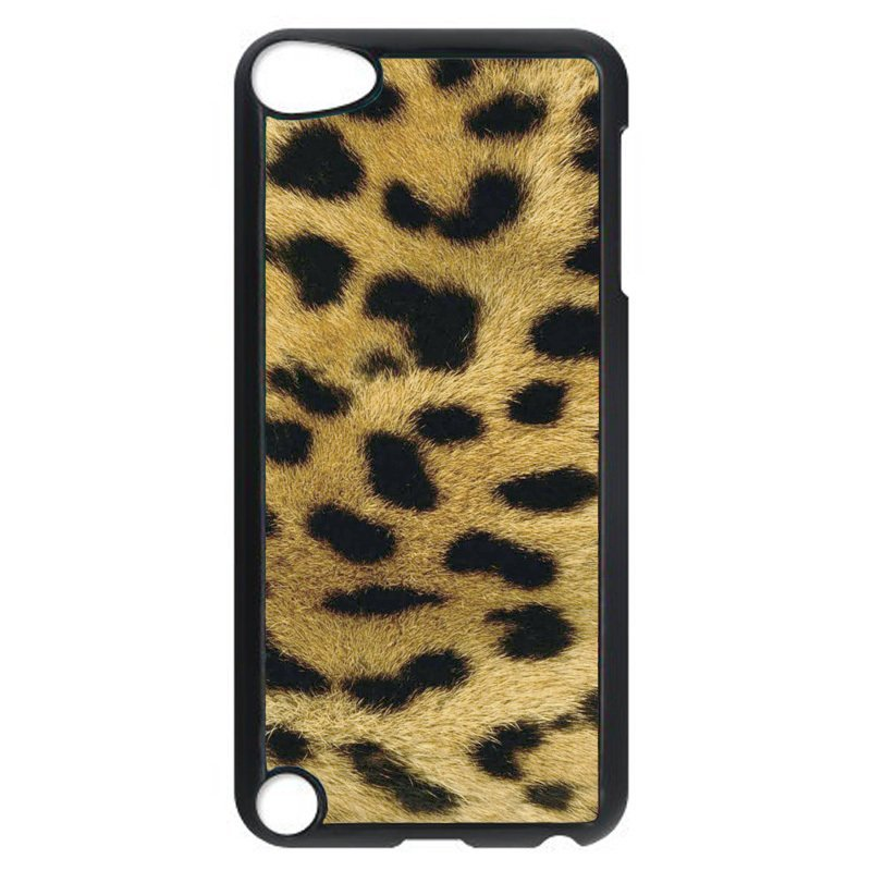 Cool Leopard Pattern Phone Case for iPod Touch 5 (Black)