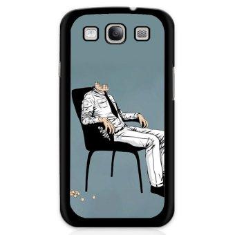 Cool No Head Man Phone Case For Samsung Galaxy S3 Mini