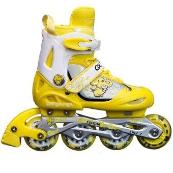 Cougar Sepatu Roda MS835L Kuning
