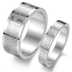 Couple Brand Cincin Couple Original 043