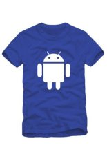Couples Dress The Android Robot Funny Cotton Short Sleeved T-shirt