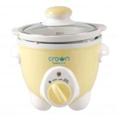 Crown Slow Cooker-Untuk Makanan bayi - kuning