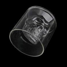 Crystal Skull Head Vodka Shot Glass Drink Cup Wine Home Bar Party Gift Favor (Intl)
