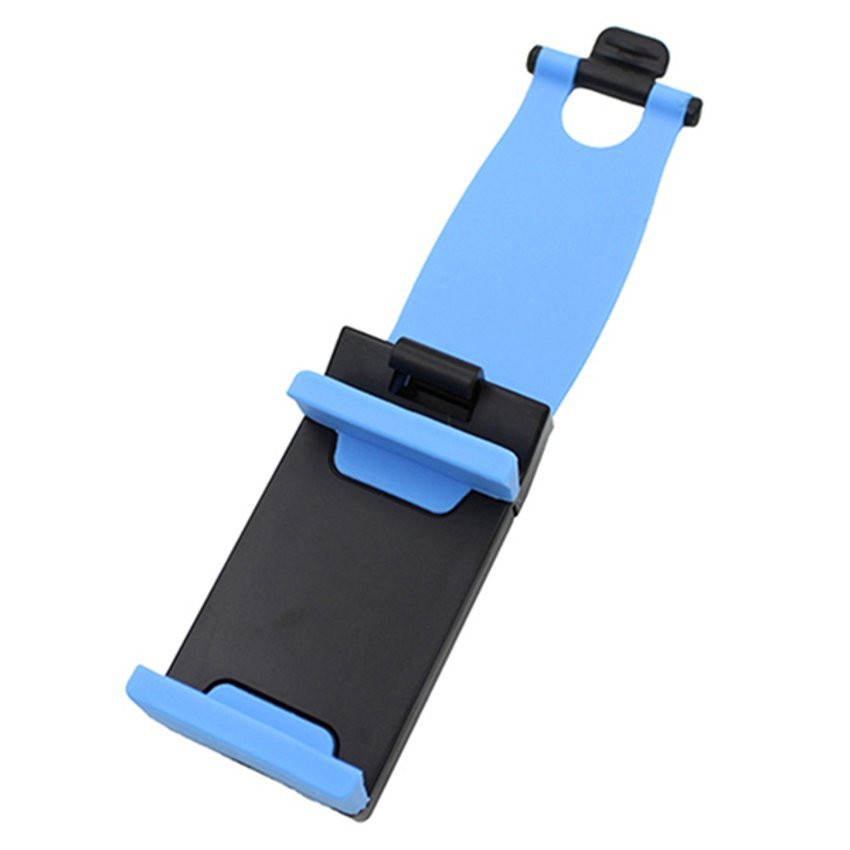 CTO Car Steering Wheel Mount Holder for iPhone (Blue)
