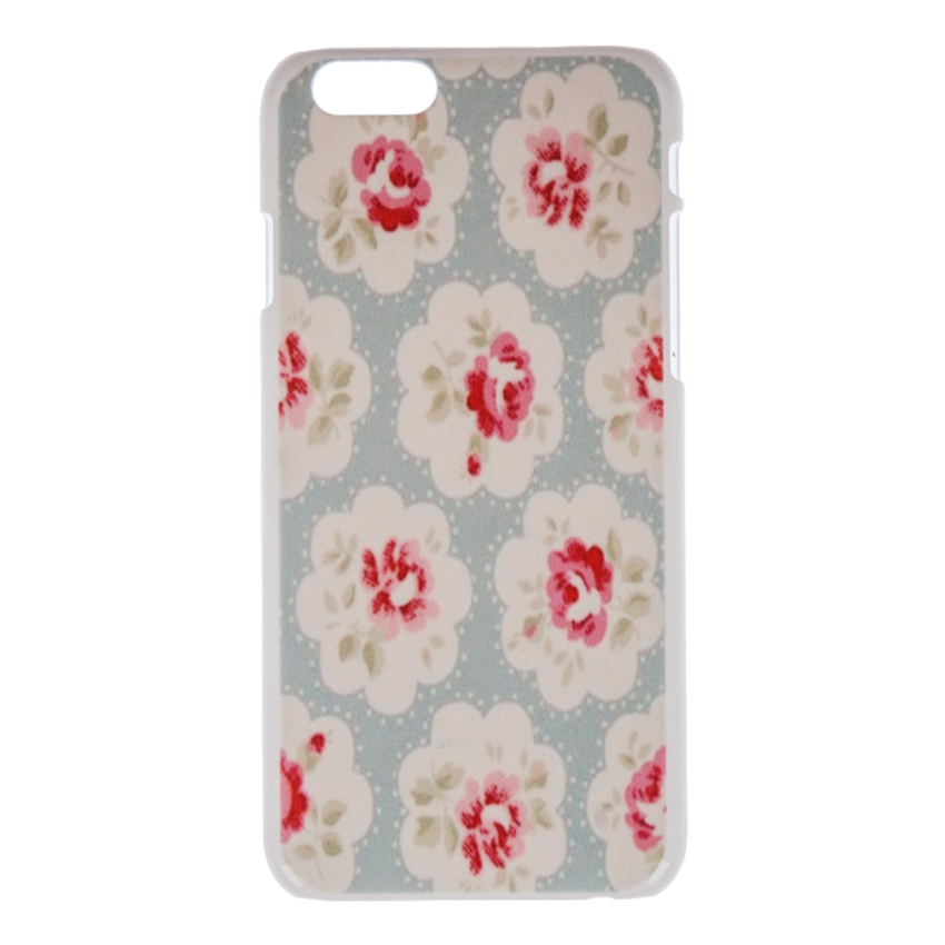 "Cute Floral Flower Pattern Hard PC Back Skin Case for Apple iPhone 6 6S 4.7"" (Multicolor) (Intl)"