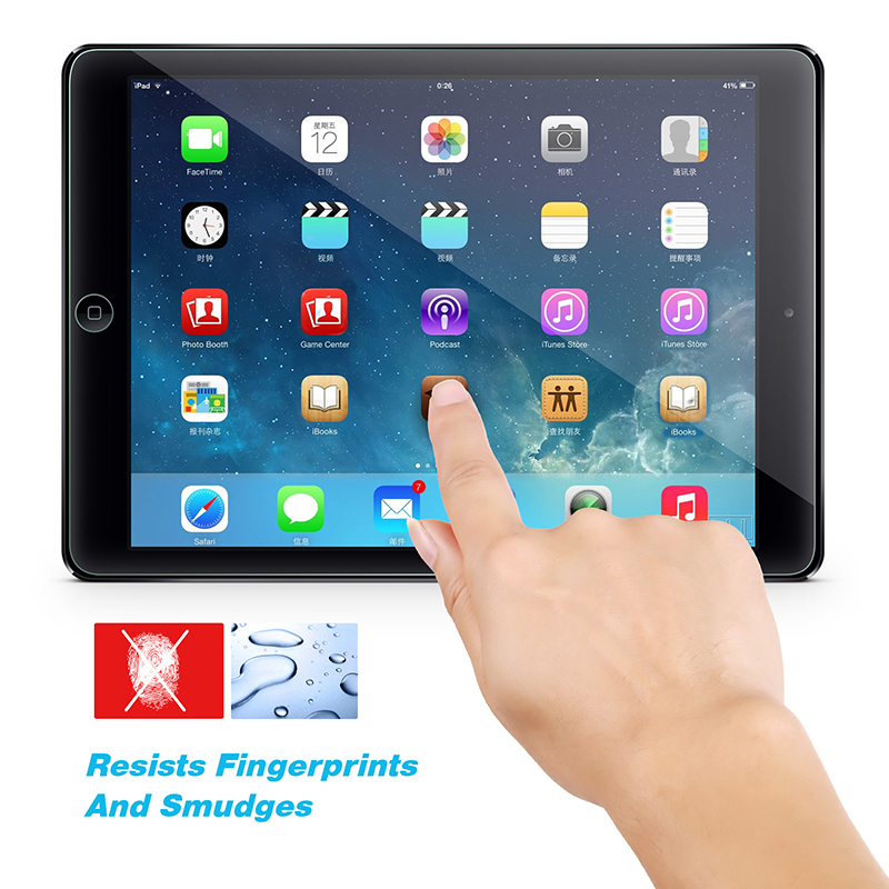 Cyber COOCHEER HD Ultra-Clear Premium Tempered Glass Screen Protector For iPad 2 3 4/ Mini/ Air (Intl)