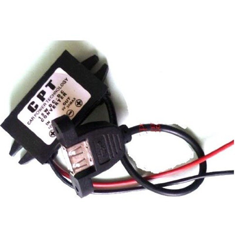 DC Converter Buck Module 12V convert to 5V ,5V usb output power Adapter(DCCON-5U) (Intl)