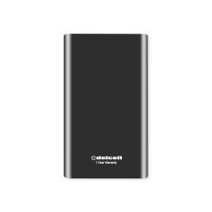 Delcell Grand Power Bank Real Capacity - 16800mAh - Black
