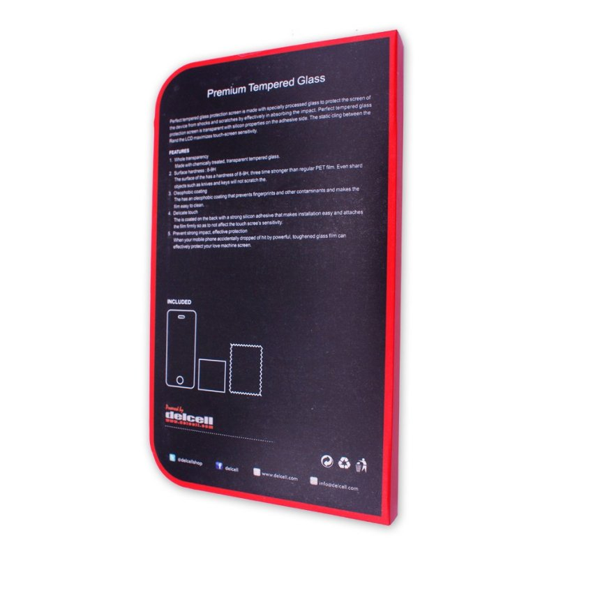 Delcell iPad Mini Tempered Glass Screen Protector