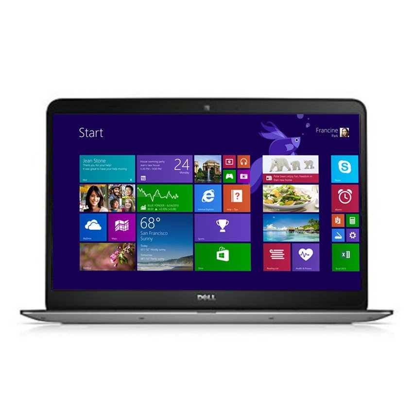 "Dell Inspiron 15z-7548 Bradley - 16GB - Intel Core i7-5500U - 15.6""  - Silver"