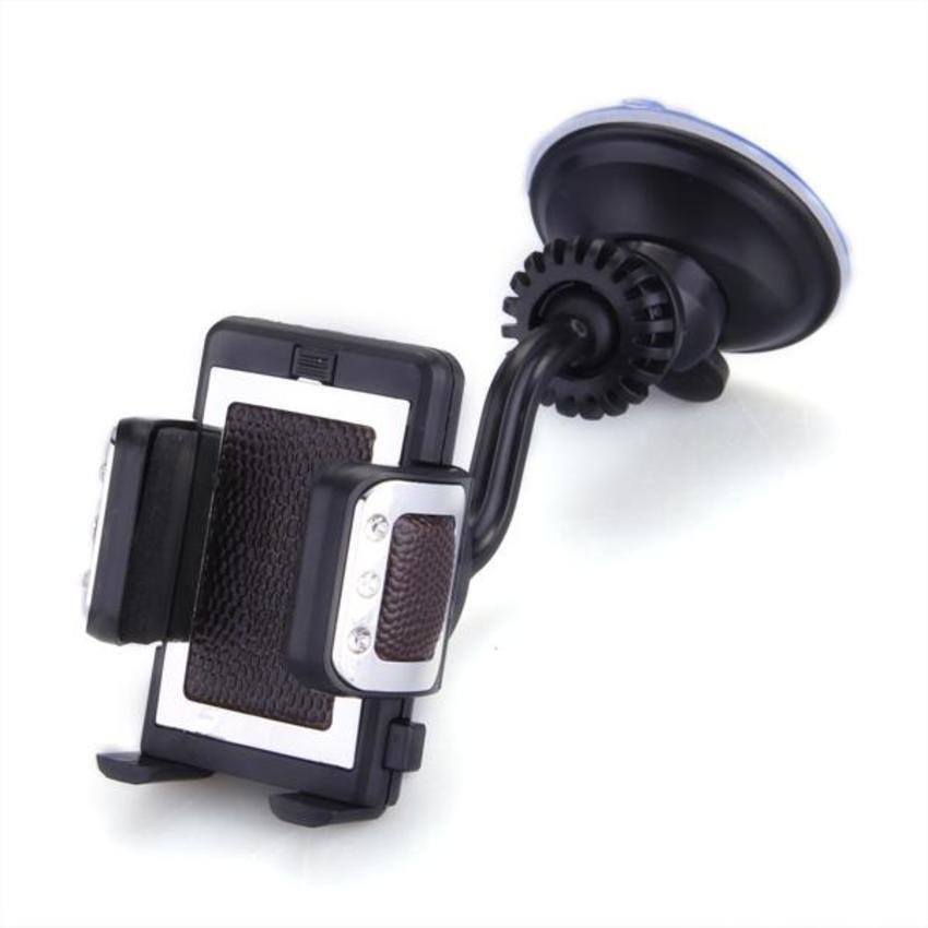 DHS Car 360°Air Vent Suction Holder Cradle Mount for Cell Mobile Phone iPhone (Intl)