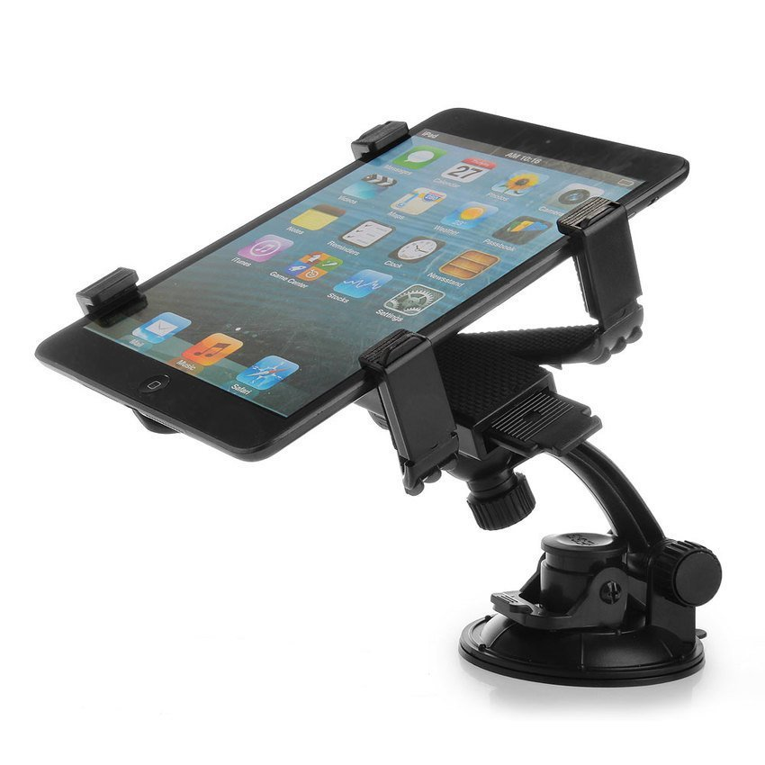 DHS Car Auto Windshield Mount Rotating Holder Bracket for 7-10 Inch Tablet GPS (Intl)