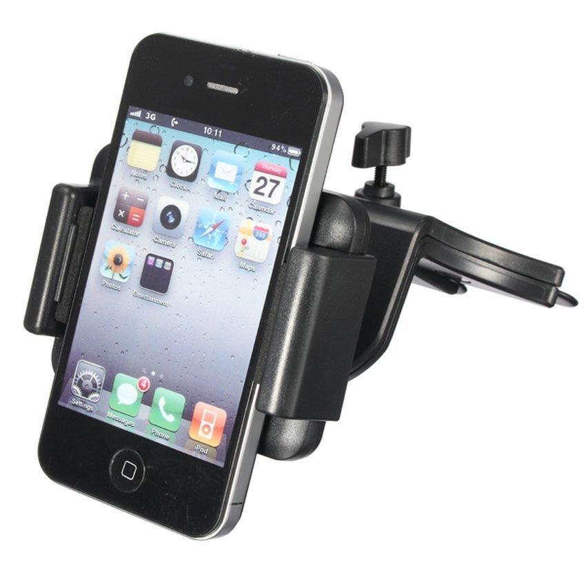 DHS Car CD Slot Mobile Holder (Black) (Intl)