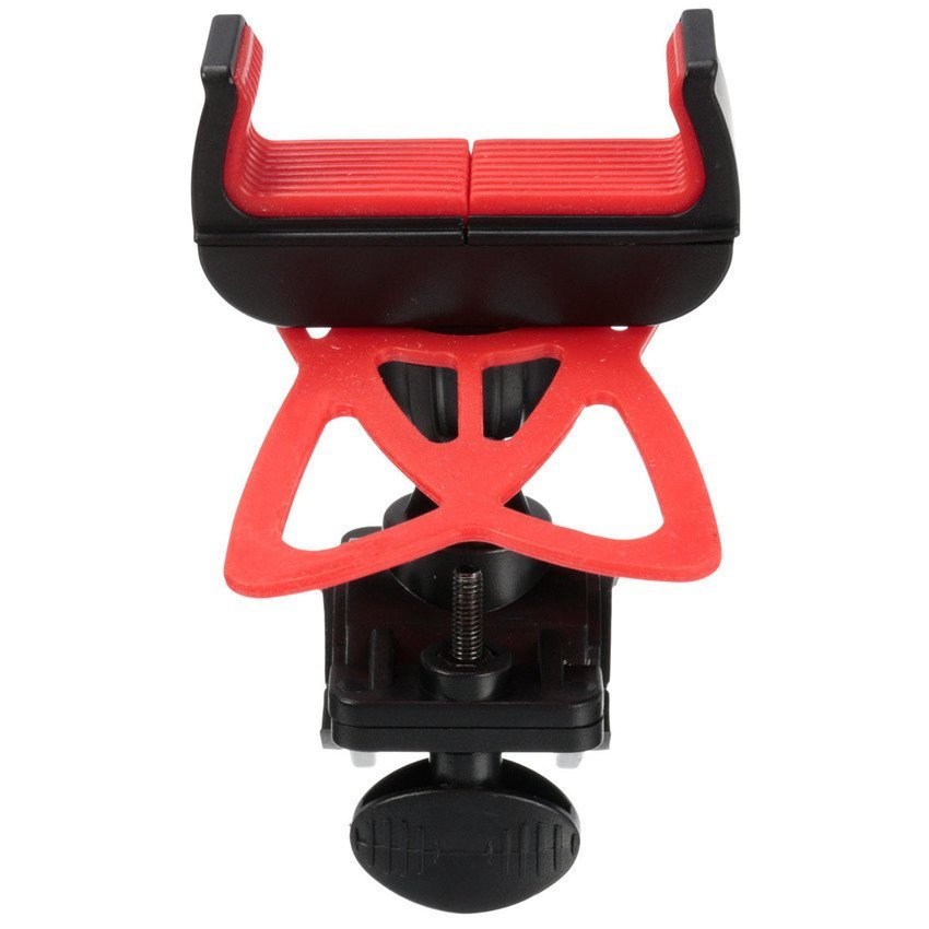 DHS Universal Bike Bicycle Motorcycle Handlebar Mount Holder Band for Mobile Phone (Red) (Intl)