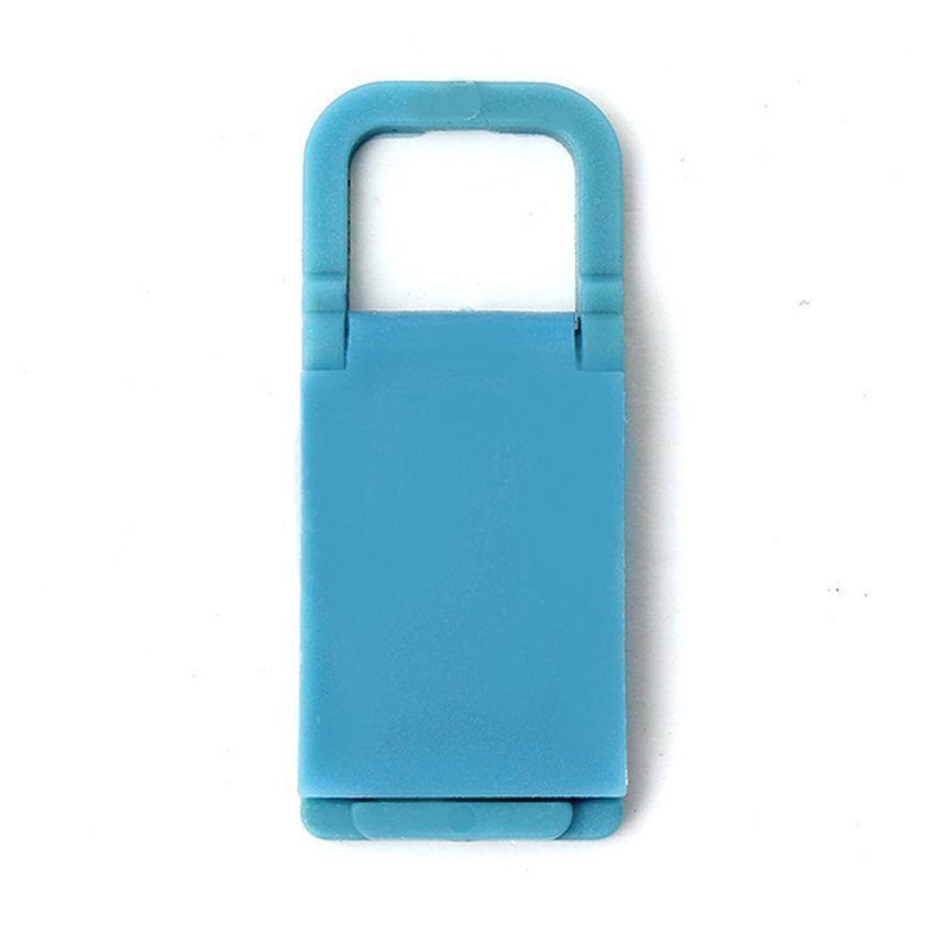 DHS. Universal Foldable Mini Cell Phone Stand Holder for iPhone Galaxy HTC Huawei Blue (Intl)