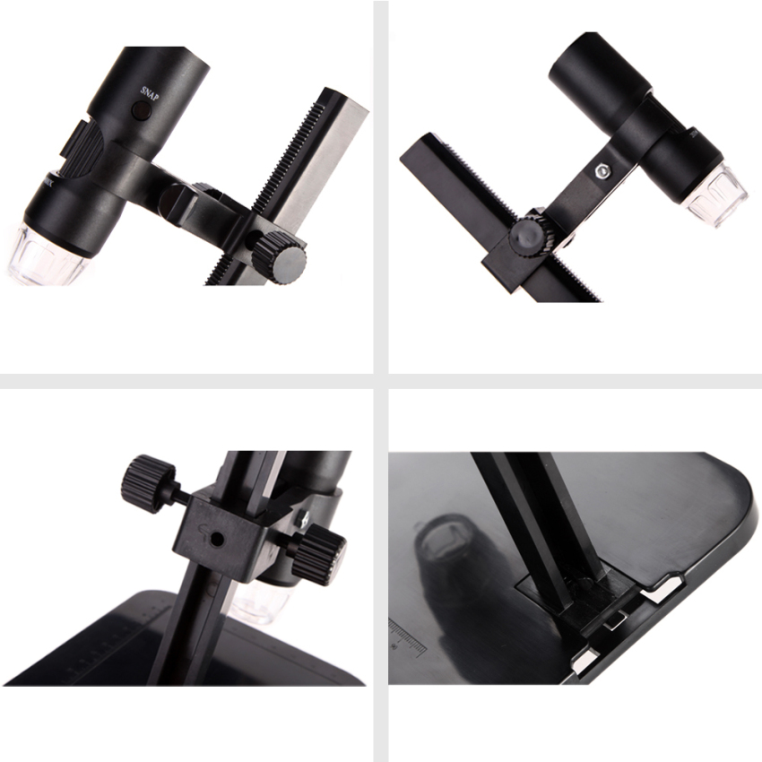 Digital Microscope 20x-800x Handheld Magnifying Glass with Handfree Stand (Intl)