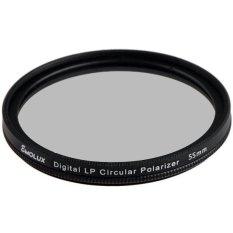 Digital Slim LP CPL 55mm Circular Polarizer Filter For Sony (Intl)