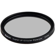 Digital Slim LP CPL 72mm Circular Polarizer Filter For Canon Nikon (Intl)