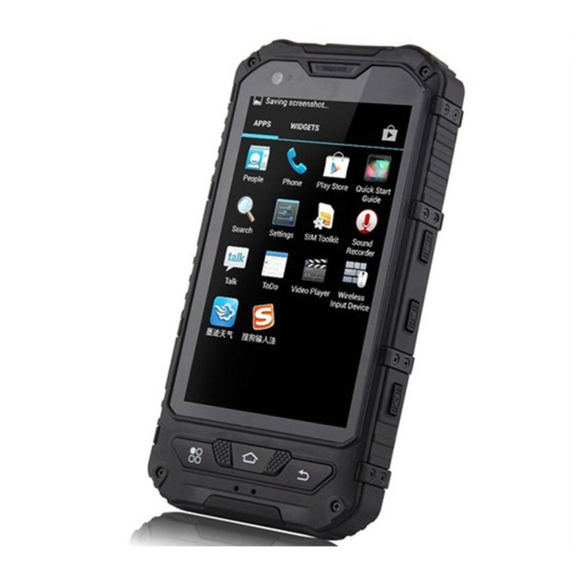 Discovery A8 MTK6572 Dual Core IP68 3G Mini Cellphone (Black) (Intl)