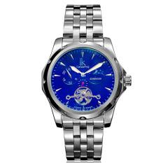 Dmscs IK Apa Qi Multi-functional Automatic Mechanical Watch Male Watch Tourbillon Watches 98527G Symphony Leisure (Black)