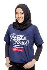 Drop Dead Good Time Original Premium Shirt - Blue Navy
