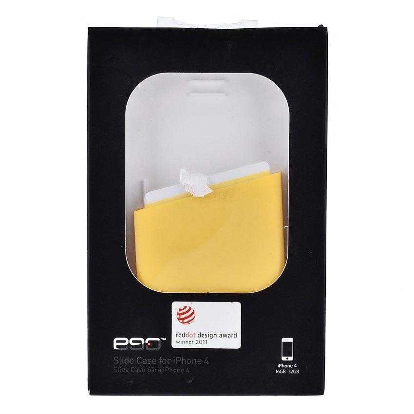 Ego Slide Bottom Case - iPhone 4/4s - Kuning