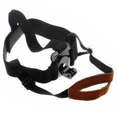 Elastic Adjustable Head Strap Belt Mount For GoPro Hero 4 3.3 2 1 HD Sport Camera ST-90 Elastic Adjustable Head Strap Belt Mount (Intl)